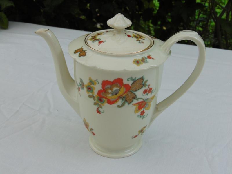 Antique porcelain Tielsch-Altwasser coffee pot