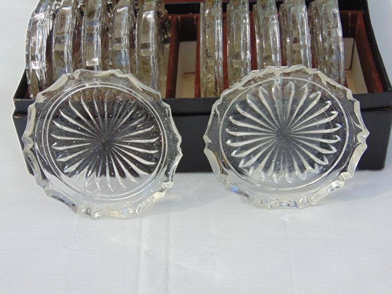 Spiksplinternieuw Antieke glazen onderzetters   De Vijf sparren TS-24