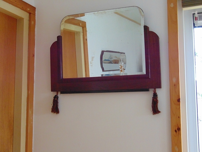 Antique hall mirror 1920