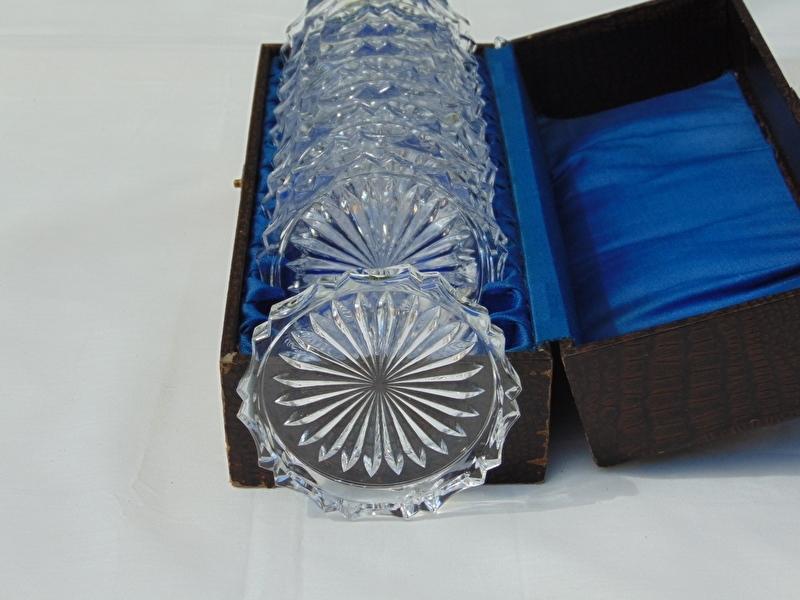 Verrassend Antieke glazen onderzetters   De Vijf sparren PH-73