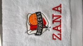 Handoeken met geborduurde naam of logo naar keuze