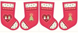 Kerstsok - Christmas Stocking -  Lewis & Irene - 100% katoen