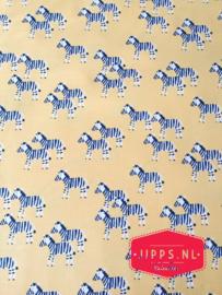 Zebra's in Aspen - Dear Stella - 100% katoen