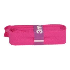 Dox biaisband 12mm - roze - 3 mtr.
