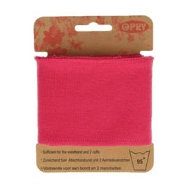 Opry - boord en manchetten - roze