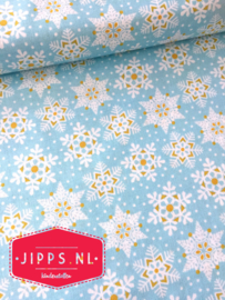 Land of Snow Blue  - Blend Fabrics