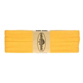 Jersey Biaisband 20 mm geel 711 - 3 mtr. - Oaki Doki tricot