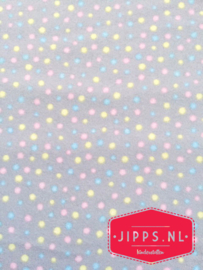 Flanel met stipjes - 3 Wishes Fabric