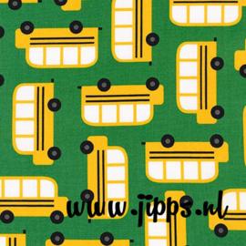 Schoolbus - Robert Kaufman Fabrics