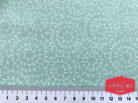 Pippit Moesby Green - 3 Wishes Fabric - 100% katoen