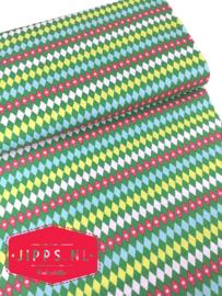 Wiebertjes - Tartan Green - Blend Fabrics - 100% katoen
