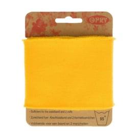 Opry - boord en manchetten - geel