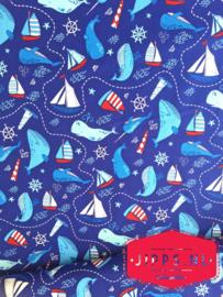 The Ocean - Camelot Fabrics - 100% katoen