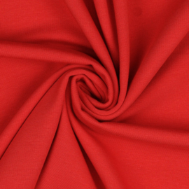 Bio Jersey rood - 95% CO5% EA