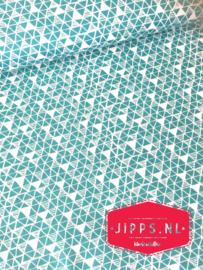 Panda-Rama - Blend Fabrics - zeegroen - 100% katoen