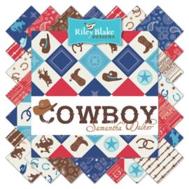 75 x 110 cm Cowboy Toss Multi - Riley Blake Designs