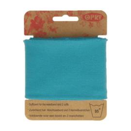 Opry - boord en manchetten - blauw