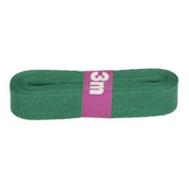 Dox biaisband 12mm - groen (481) - 3 mtr.
