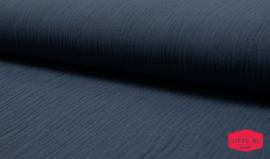 Hydrofiel jeans blauw - 100% katoen