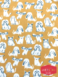 Hondjes - PBS Fabrics  - 100% katoen