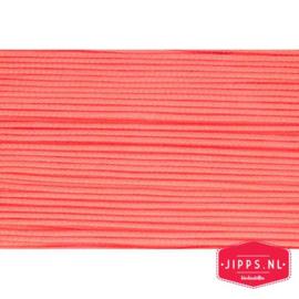 Koord - oranje/roze - 3 mm