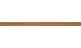 Piping koord - lederlook - bruin