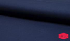 Katoen uni - donkerblauw - 100% katoen