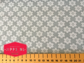 Polar Ice Christmas Crystal - 3 Wishes Fabric