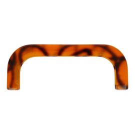 Tasbeugel kunsstof 25 cm bruin