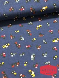 Trekkertjes - jeans blauw - tricot