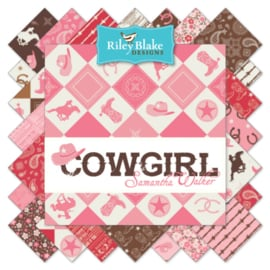 Cowgirl Main Multi - Riley Blake Designs