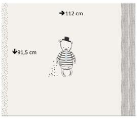 Boxkleed stofpanel - Sir Bear - Art Gallery Fabrics - 100% katoen