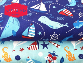 Sailboat - Camelot Fabrics - 100% katoen
