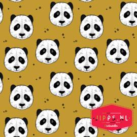 Peculiar Panda - Golden Ochre - Bloome Copenhagen - Bio Jersey