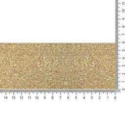 Sierelastiek - goud - 60 mm