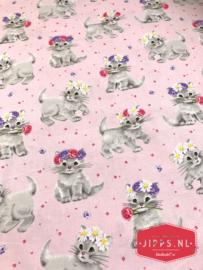 Furry Princess - Michael Miller Fabrics - 100% katoen