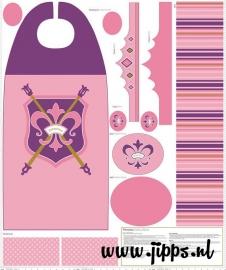 Prinsessencape - Stofpanel - Riley Blake Design