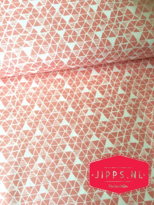 Panda-Rama - Blend Fabrics - zalmkleurig
