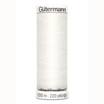 Gutermann naaigaren 800 - wit