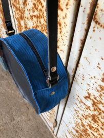 Tas rond donkerblauw