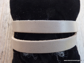 Gesp armband taupe