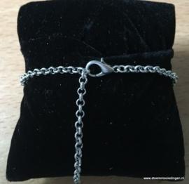 Bloem rond schakelarmband