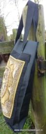 Schoudertas zwart