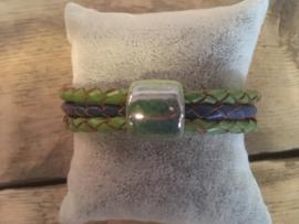 Armband  groen  blauw