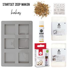 Startset Zeep Maken - Kokos