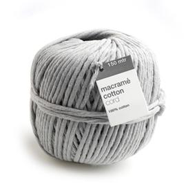 Macrame Yarn Grey - 150 meter