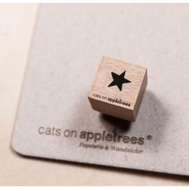 Houten Stempel - Mini Ster