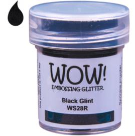 Embossing Powder Glitter - Black Glint
