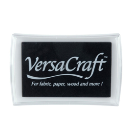 VersaCraft Stempelkussen Groot - Real Black