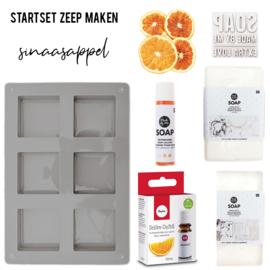 Startset Zeep Maken - Sinaasappel